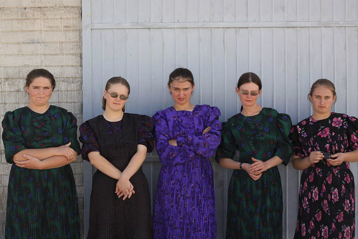 Amish teenagers
