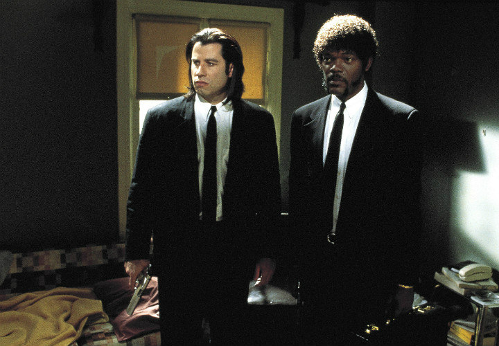 Pulp Fiction wardrobe malfunction