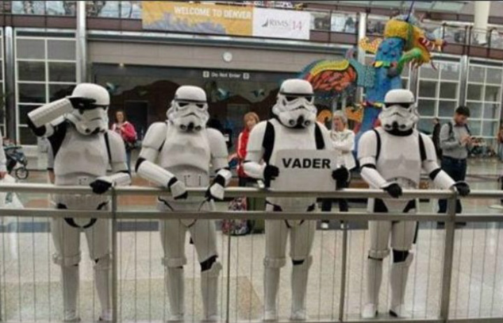 Stormtroopers Reporting for Duty