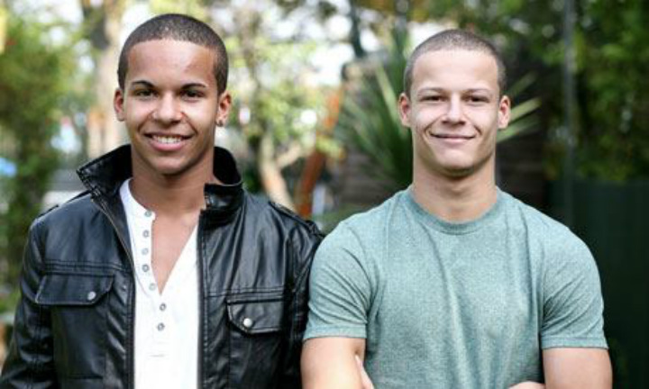 James and Daniel Kelly Twins