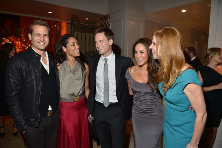 Meghan Markle with Celebrities