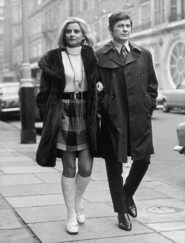 Charles Bronson and His Wife Jill Ireland