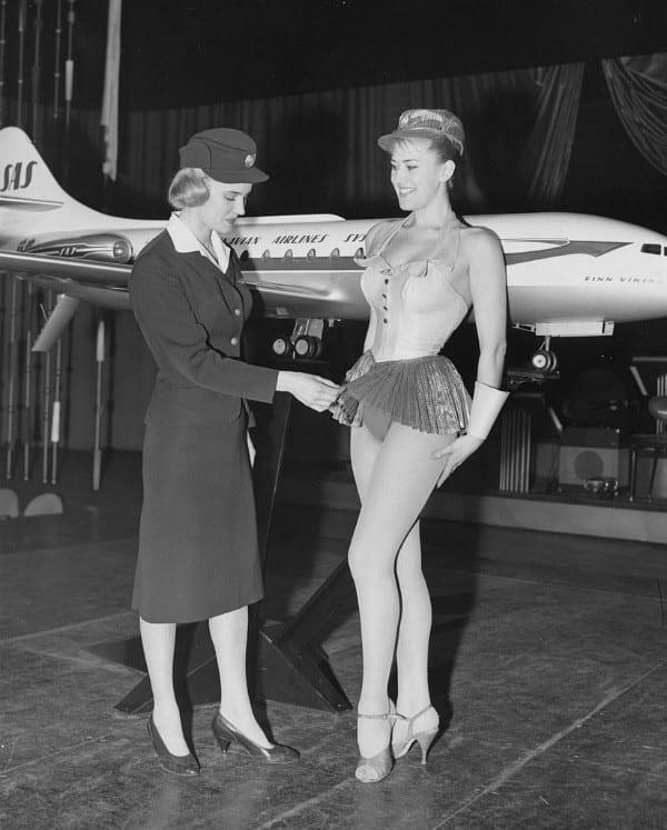 Swedish Airlines Stewardess