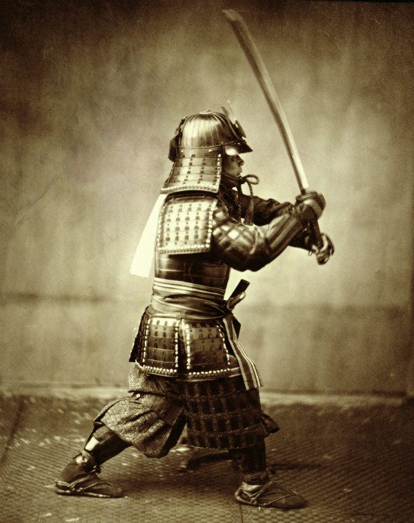 Felice Beato of Japanese Samurai