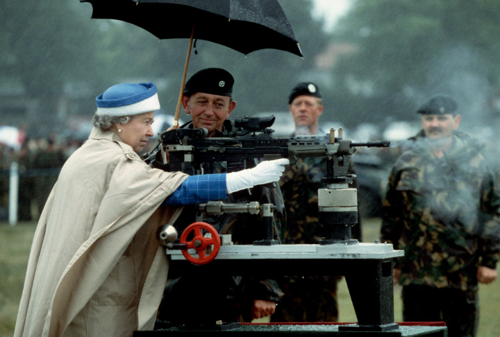 Queen Elizabeth Shooting