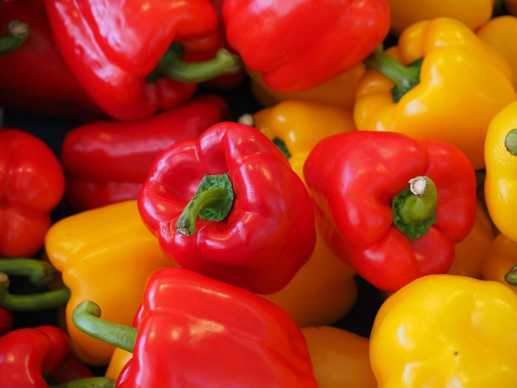 bell peppers, foods you don't have to put in the refrigerator