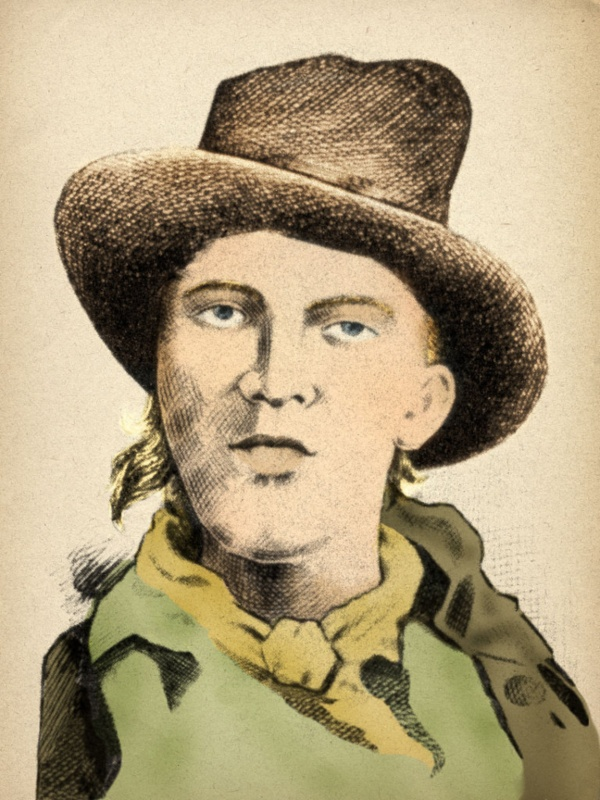 Billy the kid rare photo