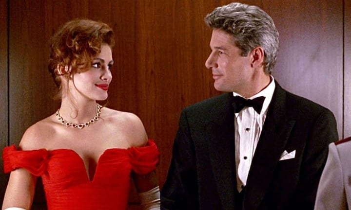 Pretty woman sexy movie scenes