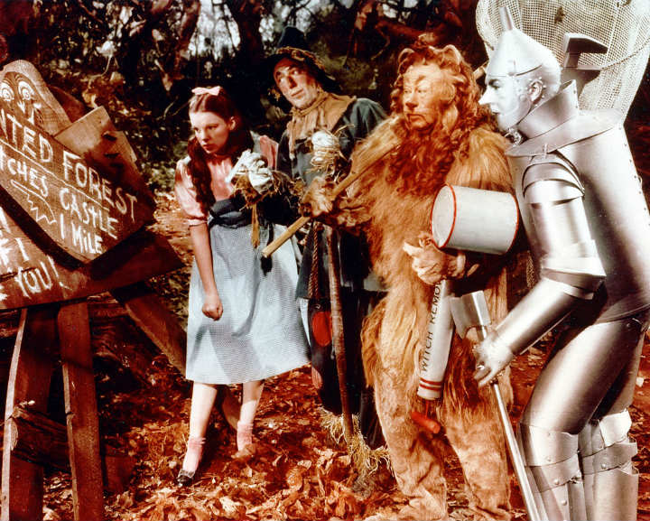 Wizard of Oz behind the scenes