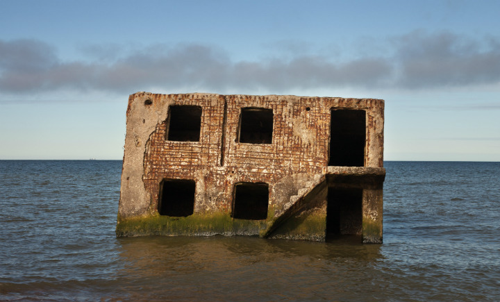 liepaja latvia fort abandoned submarines