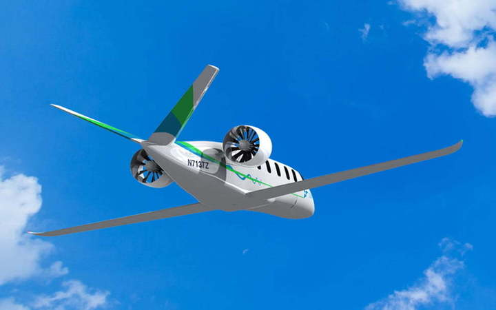 Hybrid-Electric Airplane