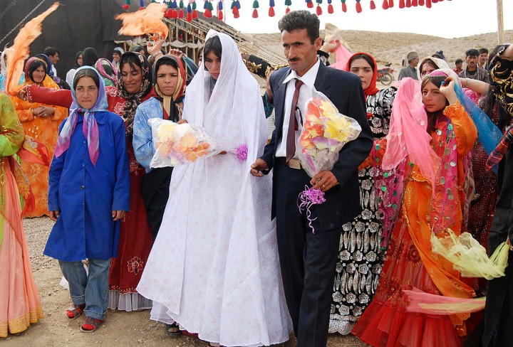 facts about iran wedding