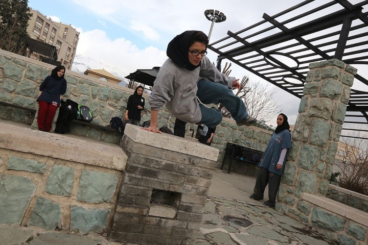 facts about Iran parkour