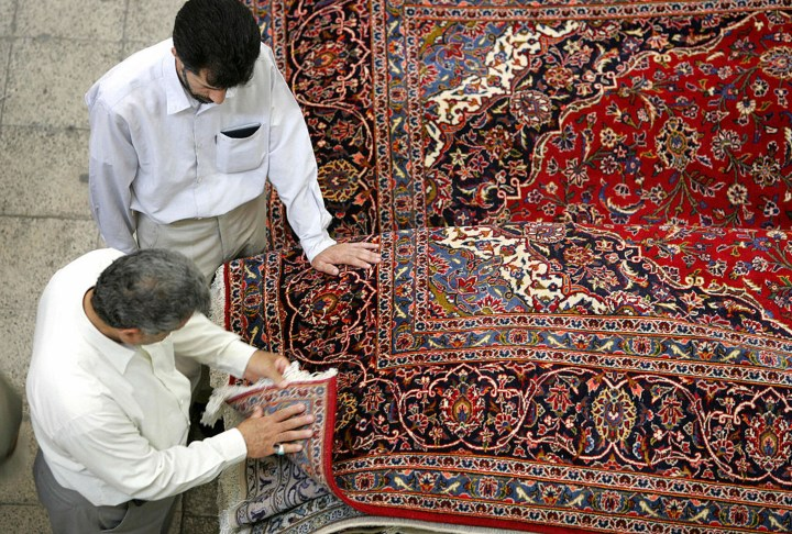 Iran carpet