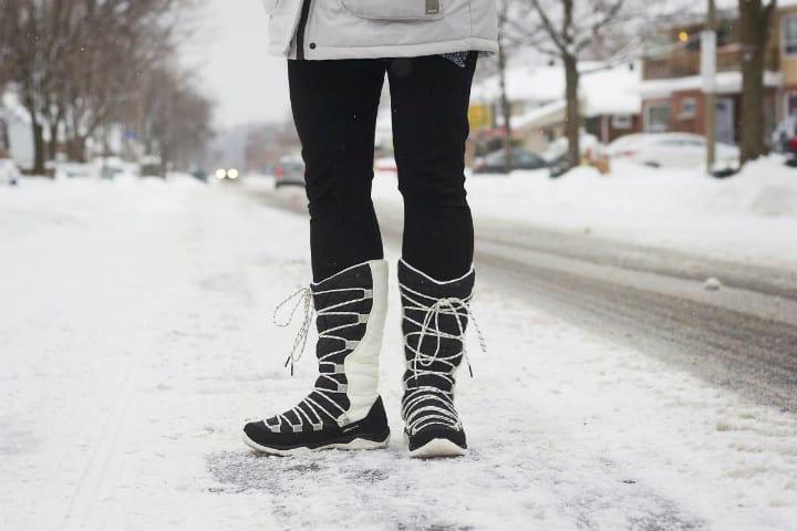 winter snow boots
