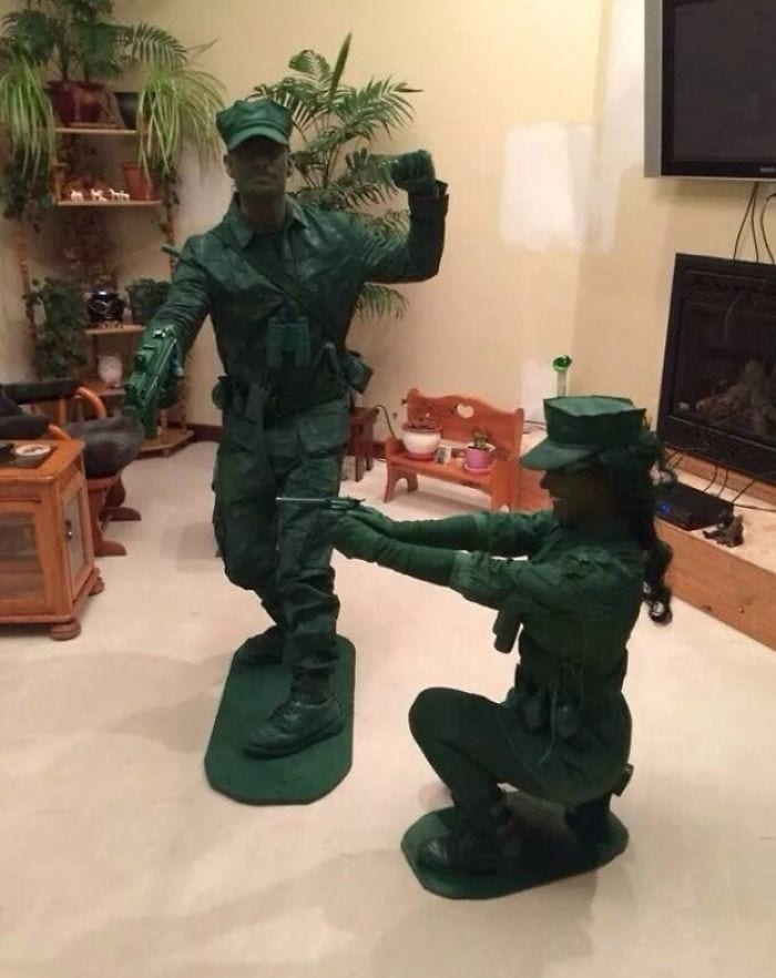 toy soldiers halloween costumes