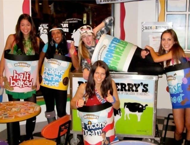 ben and jerrys ice cream halloween costumes