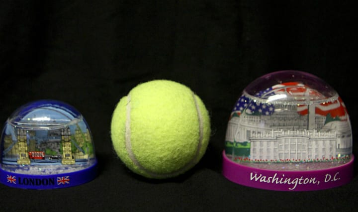 Snow Globes and Tennis Balls