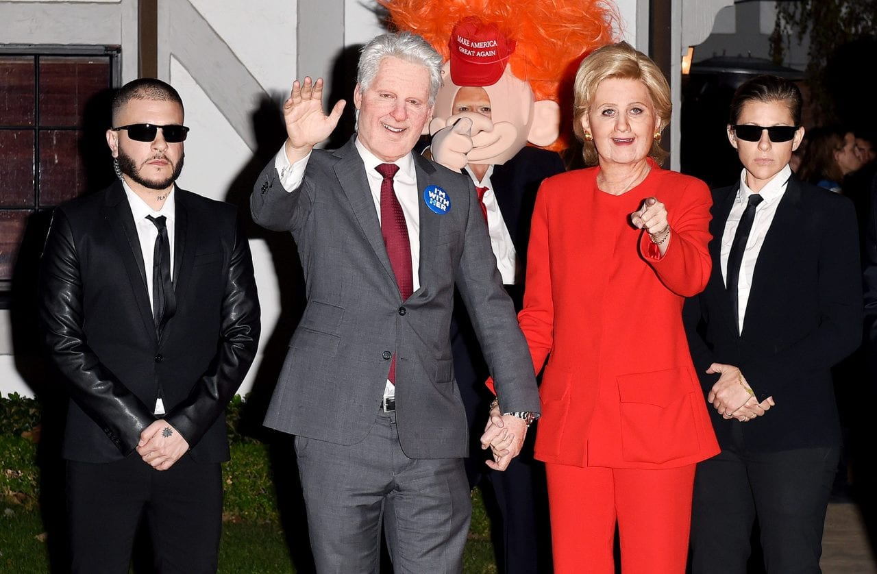 katy perry orlando bloom bill hillary clinton halloween costumes
