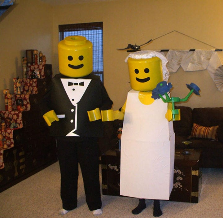 halloween costumes legos brilliant clever