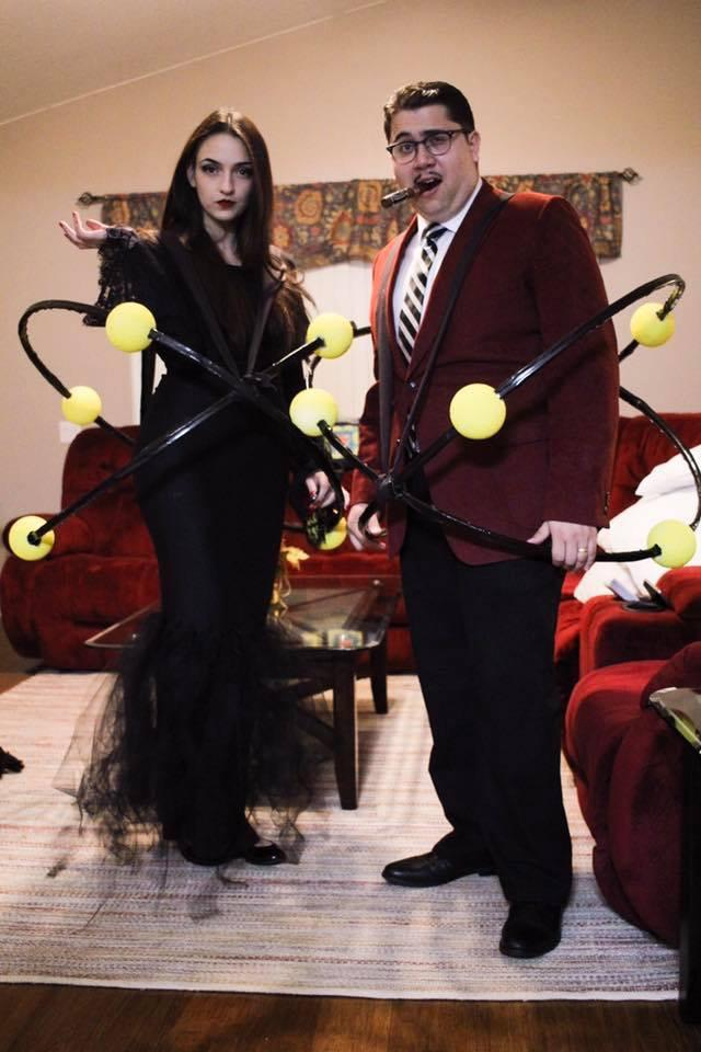 atoms addams family morticia gomez halloween costumes