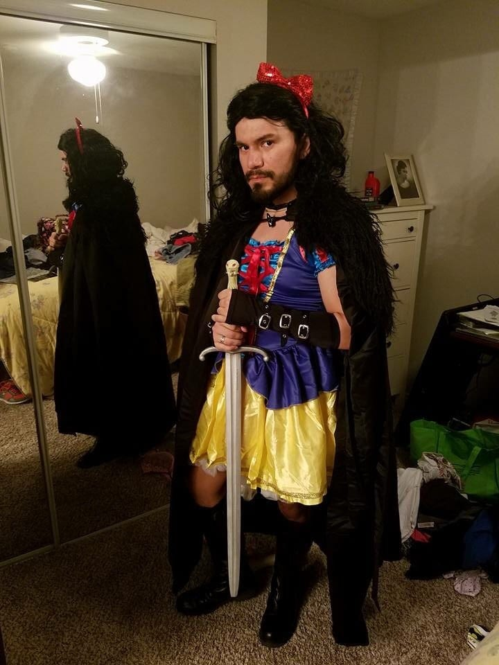 jon snow white game of thrones disney halloween costumes