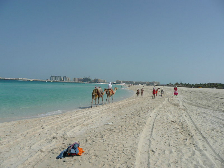 Family Beach in Dubai