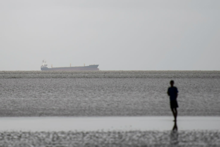 ghost abandoned ship found myanmar