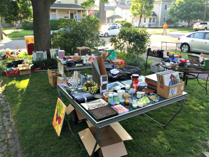hidden treasure - yard sale