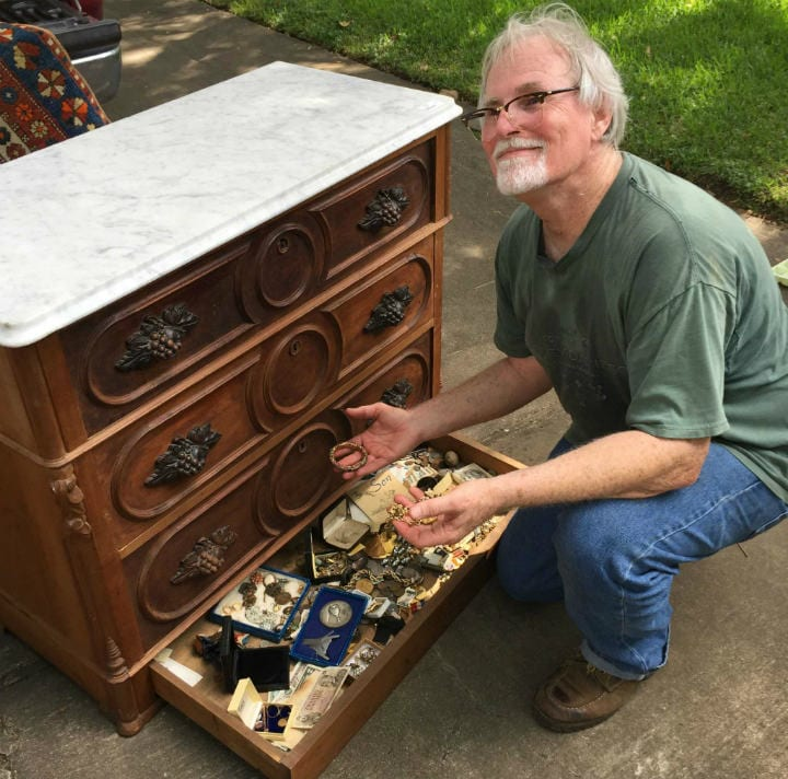 Emil Knodell - hidden treasure yard sale