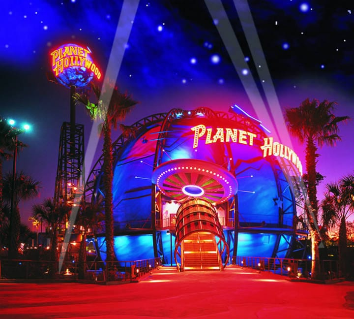restaurant chains - Planet Hollywood