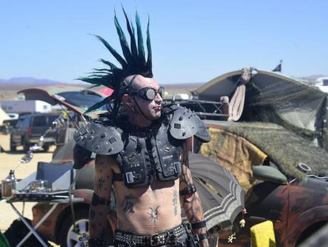 wasteland mohawk mad max