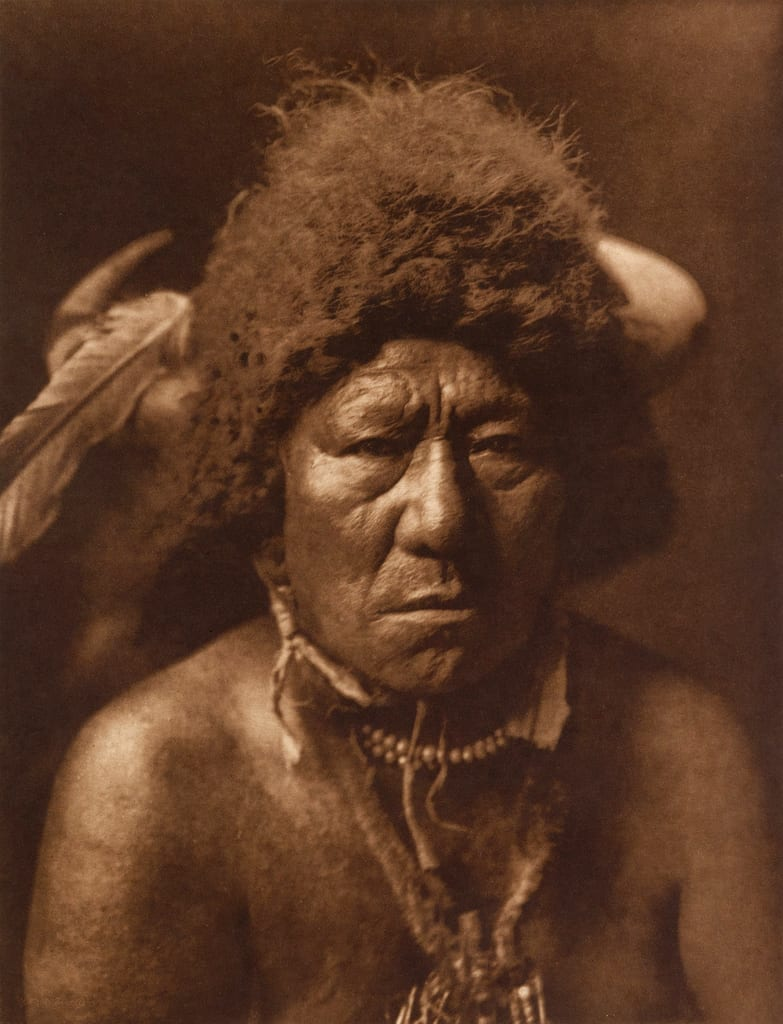 bull neck arikara native american photos