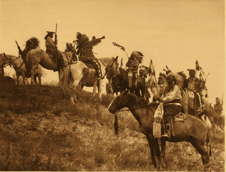 oglala sioux warriors native american photos