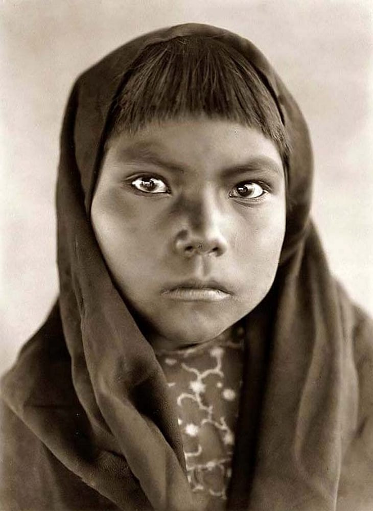 qahatika child native american photos
