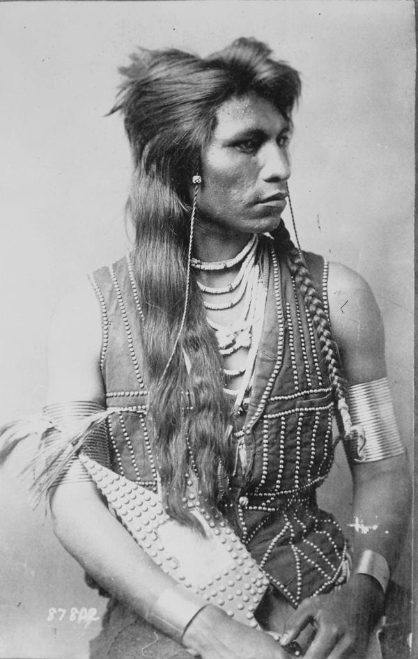 rabbit tail shoshone native american photos