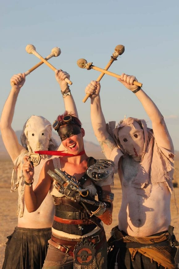 festival wasteland mojave desert california mad max