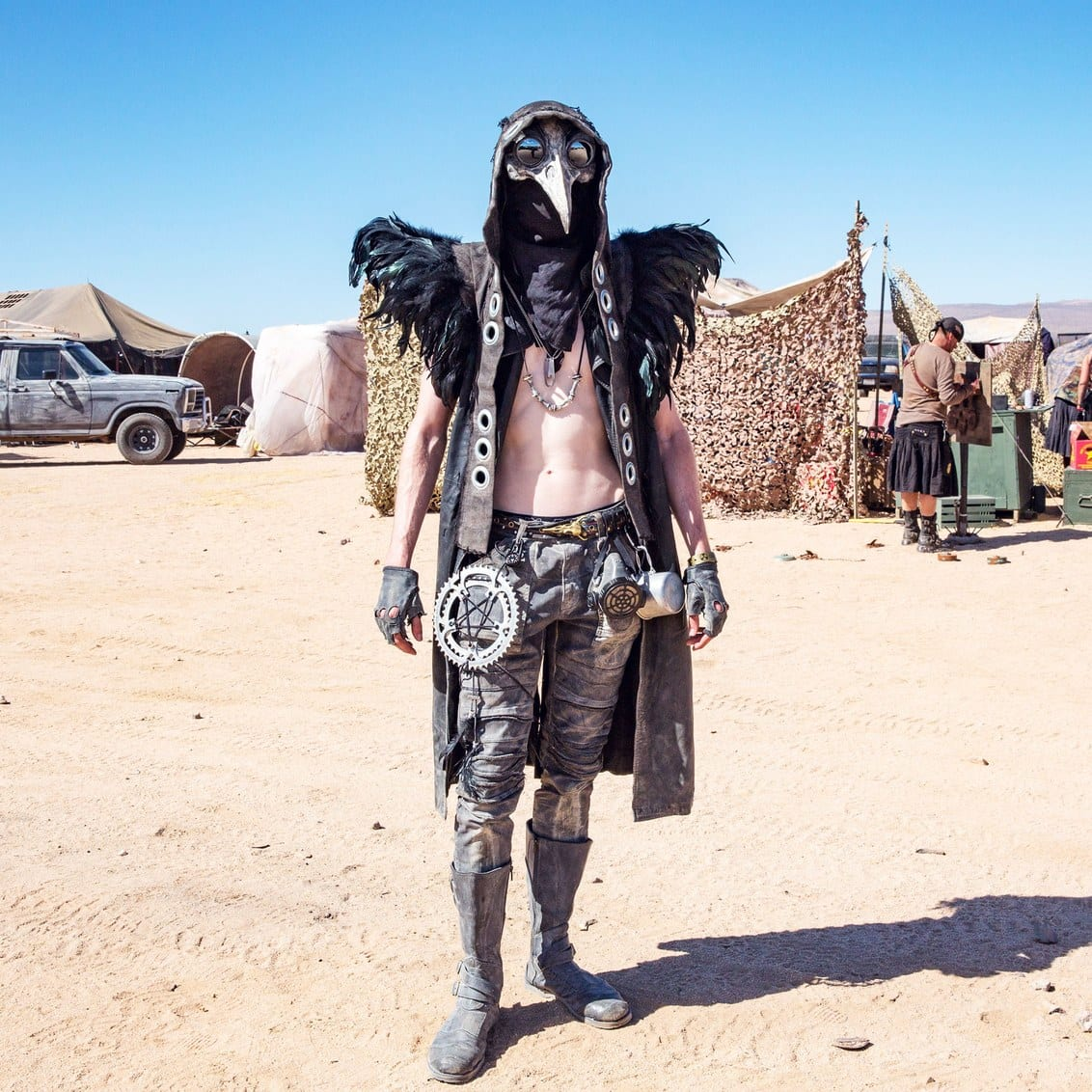 costume mad max wasteland festival