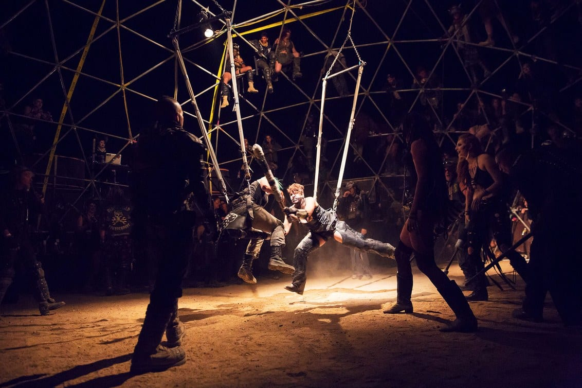 thunderdome mad max wasteland festival