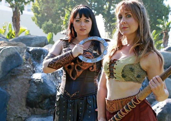 xena gabrielle warrior princess cosplay