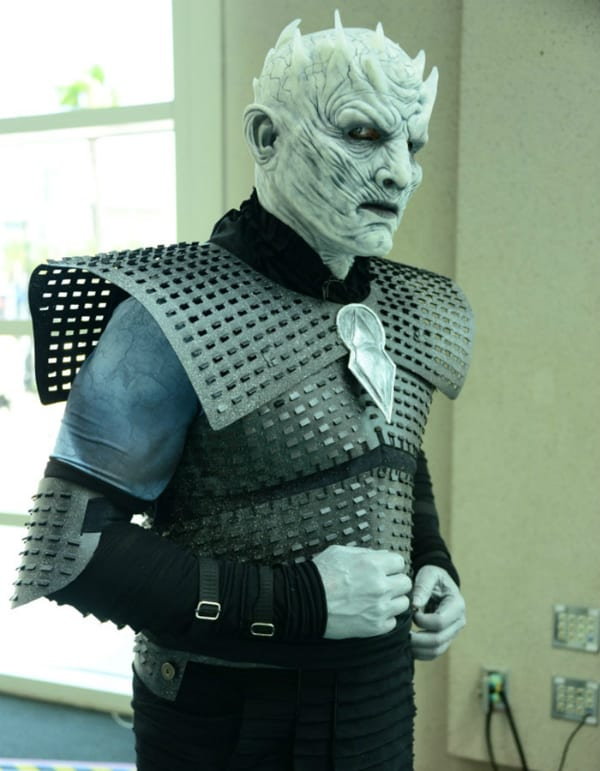 night king white walkers game of thrones cosplay