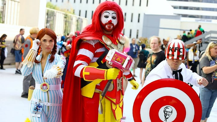 fast food heroes cosplay
