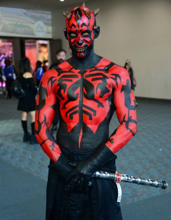 darth maul star wars cosplay