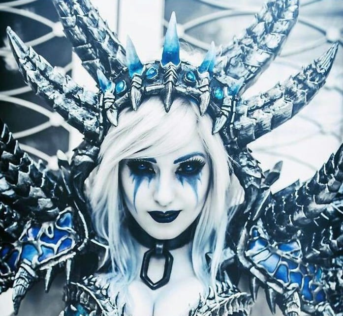 cosplay winter queen