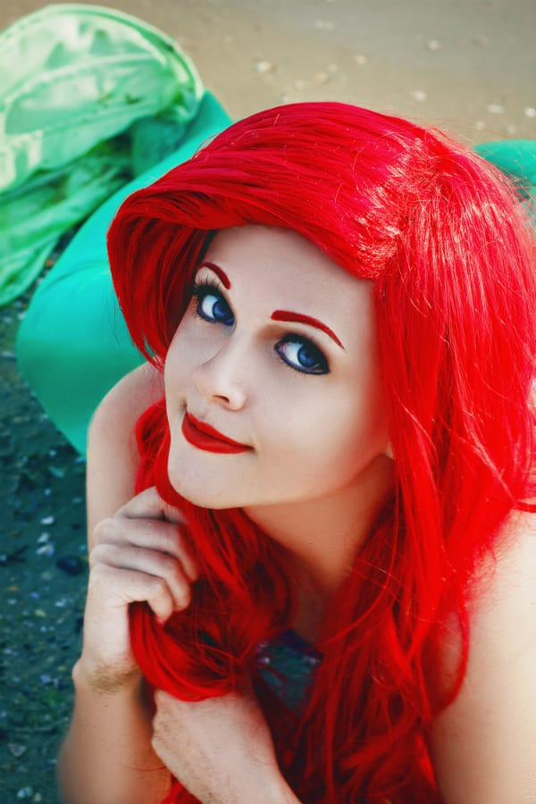 ariel little mermaid cosplay amazing