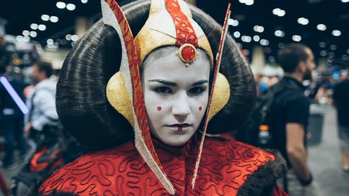 queen amidala padme star wars cosplay