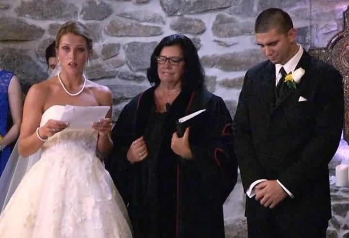 4bcb0cc4cf5 Bride Addresses Groom s Ex At Wedding For The Most Touching Reason