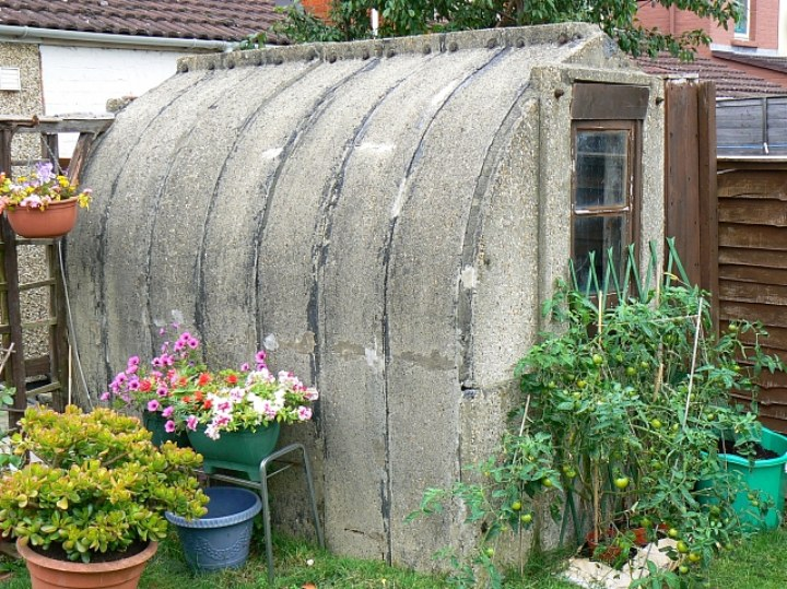 Anderson shelter in good condition