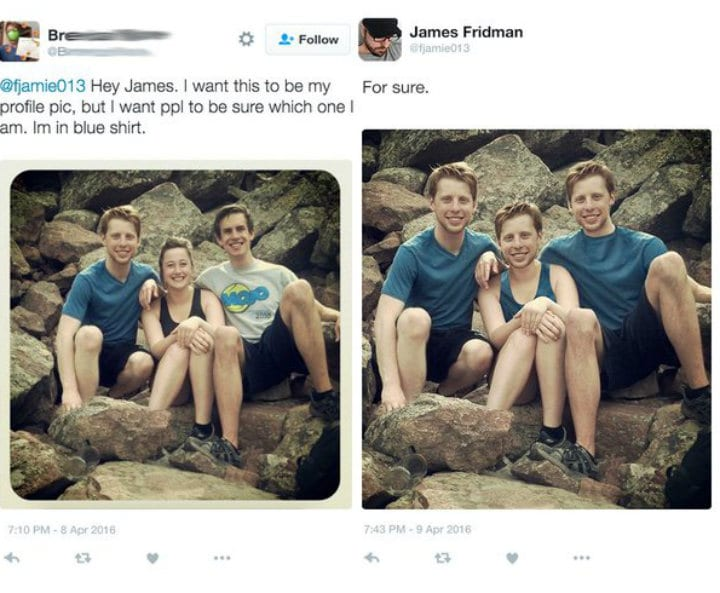 James Fridman Twitter photoshop
