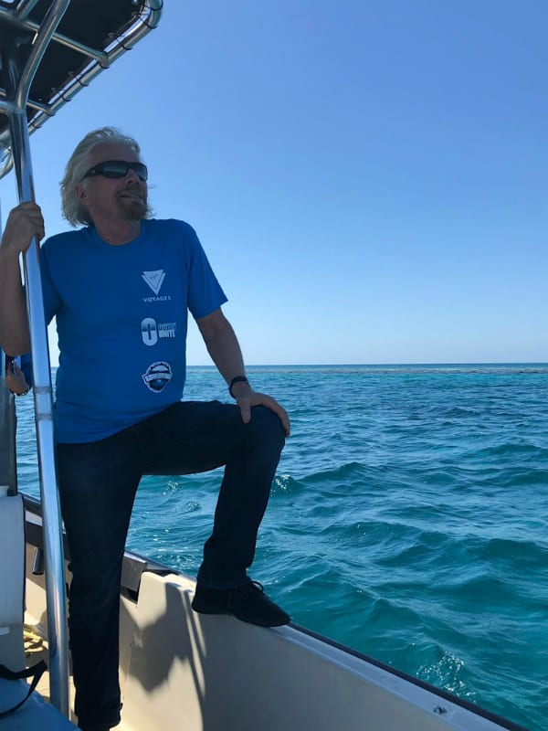 richard branson blue hole